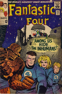 Cover for Fantastic Four (Marvel, 1961 series) #45 [Regular Edition]