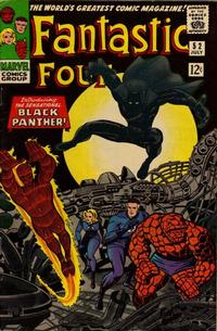 Cover Thumbnail for Fantastic Four (Marvel, 1961 series) #52 [Regular Edition]