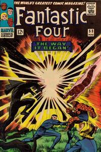 Cover Thumbnail for Fantastic Four (Marvel, 1961 series) #53 [Regular Edition]