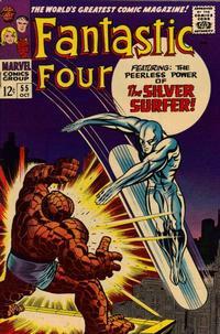 Cover Thumbnail for Fantastic Four (Marvel, 1961 series) #55 [Regular Edition]