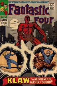 Cover Thumbnail for Fantastic Four (Marvel, 1961 series) #56 [Regular Edition]