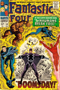 Cover Thumbnail for Fantastic Four (Marvel, 1961 series) #59 [Regular Edition]