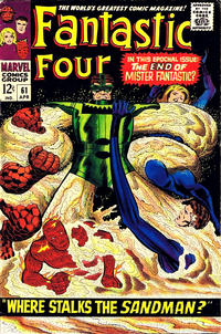 Cover Thumbnail for Fantastic Four (Marvel, 1961 series) #61 [Regular Edition]