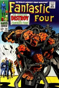 Cover Thumbnail for Fantastic Four (Marvel, 1961 series) #68 [Regular Edition]