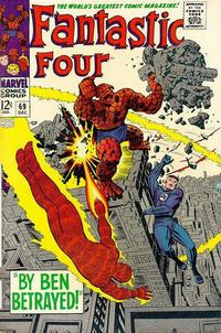 Cover Thumbnail for Fantastic Four (Marvel, 1961 series) #69