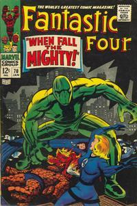 Cover Thumbnail for Fantastic Four (Marvel, 1961 series) #70