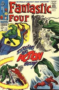 Cover Thumbnail for Fantastic Four (Marvel, 1961 series) #71