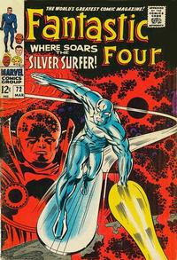 Cover Thumbnail for Fantastic Four (Marvel, 1961 series) #72