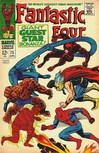 Cover Thumbnail for Fantastic Four (Marvel, 1961 series) #73