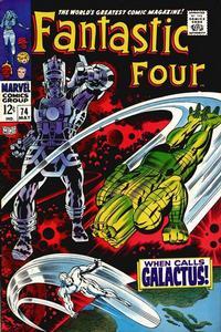 Cover Thumbnail for Fantastic Four (Marvel, 1961 series) #74