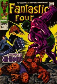 Cover Thumbnail for Fantastic Four (Marvel, 1961 series) #76
