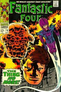 Cover Thumbnail for Fantastic Four (Marvel, 1961 series) #78