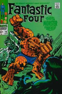 Cover Thumbnail for Fantastic Four (Marvel, 1961 series) #79