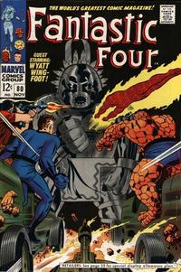Cover Thumbnail for Fantastic Four (Marvel, 1961 series) #80