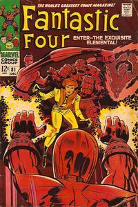 Cover Thumbnail for Fantastic Four (Marvel, 1961 series) #81