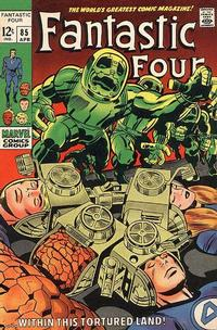 Cover for Fantastic Four (Marvel, 1961 series) #85 [British]