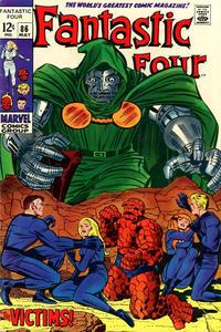 Cover Thumbnail for Fantastic Four (Marvel, 1961 series) #86 [Regular Edition]