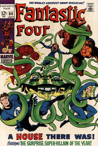 Cover Thumbnail for Fantastic Four (Marvel, 1961 series) #88 [Regular Edition]