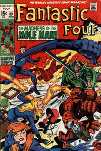 Cover Thumbnail for Fantastic Four (Marvel, 1961 series) #89 [Regular Edition]