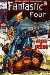 Cover Thumbnail for Fantastic Four (Marvel, 1961 series) #93 [Regular Edition]
