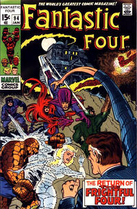 Cover Thumbnail for Fantastic Four (Marvel, 1961 series) #94 [Regular Edition]