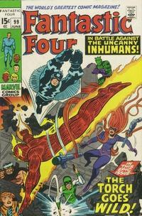 Cover Thumbnail for Fantastic Four (Marvel, 1961 series) #99