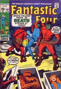 Cover Thumbnail for Fantastic Four (Marvel, 1961 series) #101 [Regular Edition]