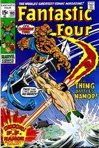 Cover Thumbnail for Fantastic Four (Marvel, 1961 series) #103 [Regular Edition]