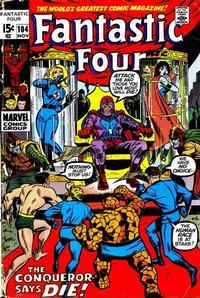 Cover Thumbnail for Fantastic Four (Marvel, 1961 series) #104 [Regular Edition]