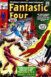 Cover Thumbnail for Fantastic Four (Marvel, 1961 series) #105 [Regular Edition]