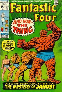 Cover Thumbnail for Fantastic Four (Marvel, 1961 series) #107 [Regular Edition]