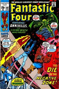 Cover Thumbnail for Fantastic Four (Marvel, 1961 series) #109 [Regular Edition]