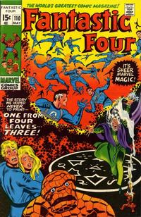 Cover Thumbnail for Fantastic Four (Marvel, 1961 series) #110 [Regular Edition]