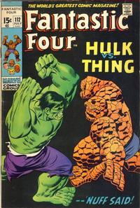 Cover Thumbnail for Fantastic Four (Marvel, 1961 series) #112 [Regular Edition]