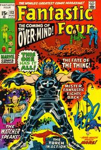 Cover Thumbnail for Fantastic Four (Marvel, 1961 series) #113 [Regular Edition]