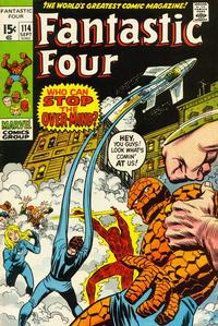 Cover Thumbnail for Fantastic Four (Marvel, 1961 series) #114 [Regular Edition]