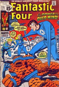Cover Thumbnail for Fantastic Four (Marvel, 1961 series) #115 [Regular Edition]