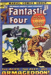 Cover Thumbnail for Fantastic Four (Marvel, 1961 series) #116 [Regular Edition]