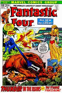 Cover Thumbnail for Fantastic Four (Marvel, 1961 series) #118 [Regular Edition]