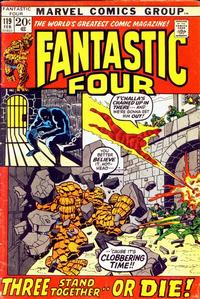 Cover Thumbnail for Fantastic Four (Marvel, 1961 series) #119 [Regular Edition]