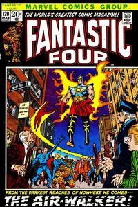 Cover Thumbnail for Fantastic Four (Marvel, 1961 series) #120 [Regular Edition]