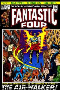 Cover Thumbnail for Fantastic Four (Marvel, 1961 series) #120 [Regular Edition]