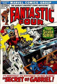 Cover Thumbnail for Fantastic Four (Marvel, 1961 series) #121 [Regular Edition]