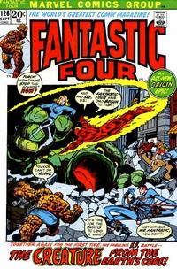 Cover Thumbnail for Fantastic Four (Marvel, 1961 series) #126 [Regular Edition]