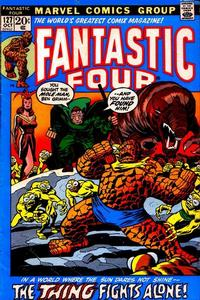 Cover Thumbnail for Fantastic Four (Marvel, 1961 series) #127 [Regular Edition]