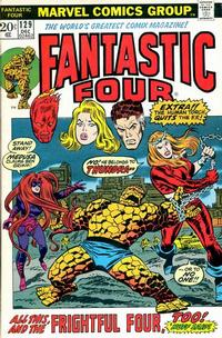 Cover Thumbnail for Fantastic Four (Marvel, 1961 series) #129 [Regular Edition]