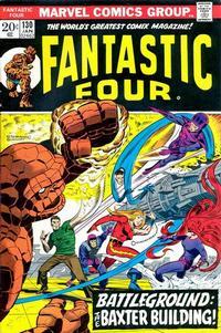 Cover Thumbnail for Fantastic Four (Marvel, 1961 series) #130 [Regular Edition]