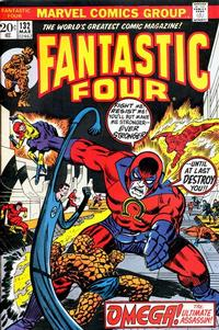 Cover Thumbnail for Fantastic Four (Marvel, 1961 series) #132 [Regular Edition]