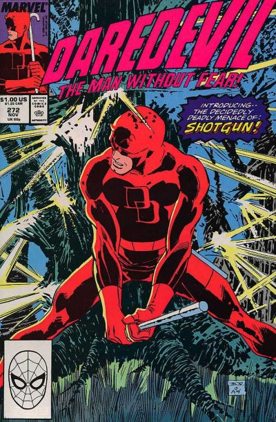 Cover for Daredevil (Marvel, 1964 series) #272 [Direct Edition]