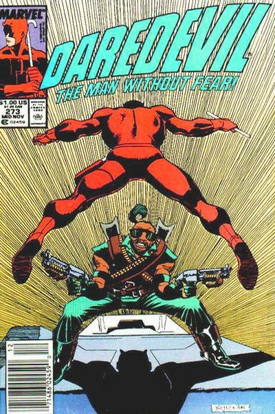 Cover for Daredevil (Marvel, 1964 series) #273 [Direct Edition]